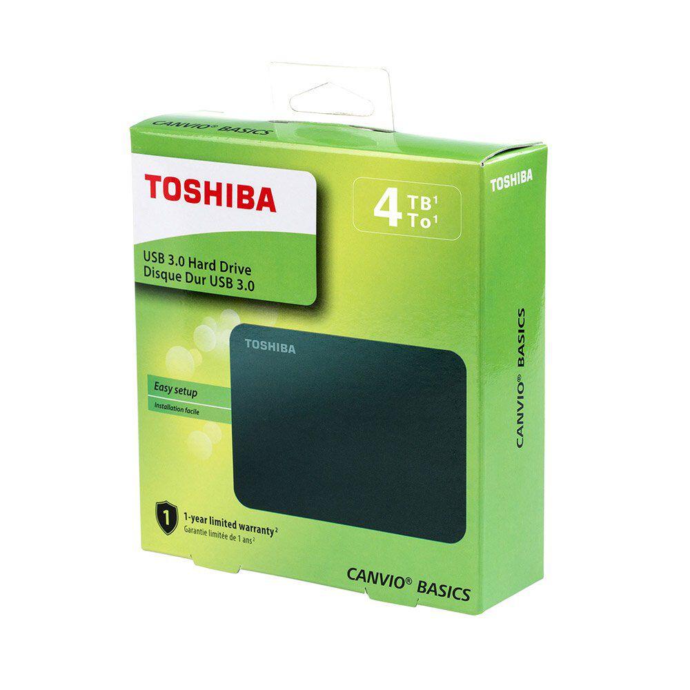 Disco Duro Externo Toshiba Canvio Basics / 4 TB image number 0.0
