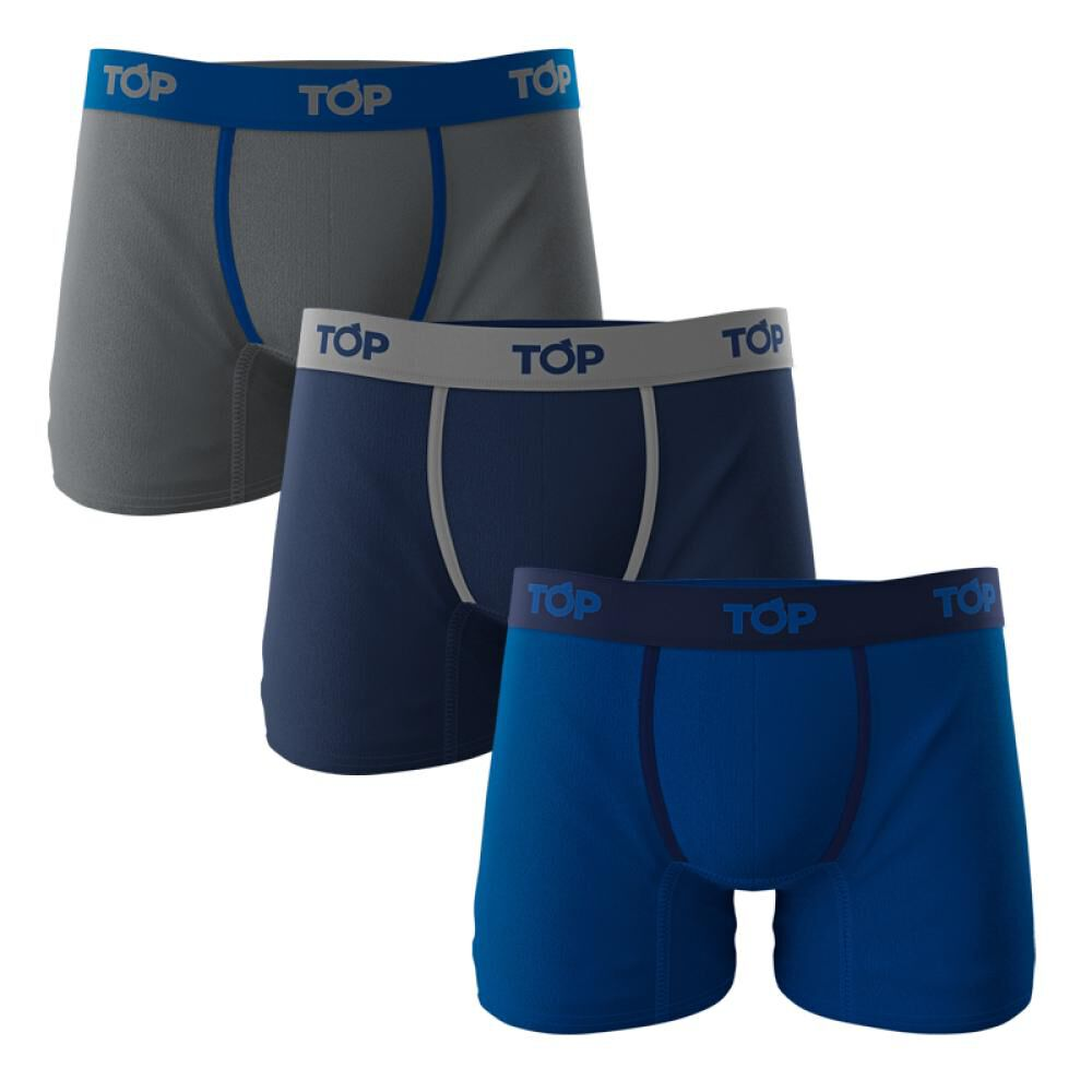 Pack Boxer Hombre Top image number 0.0