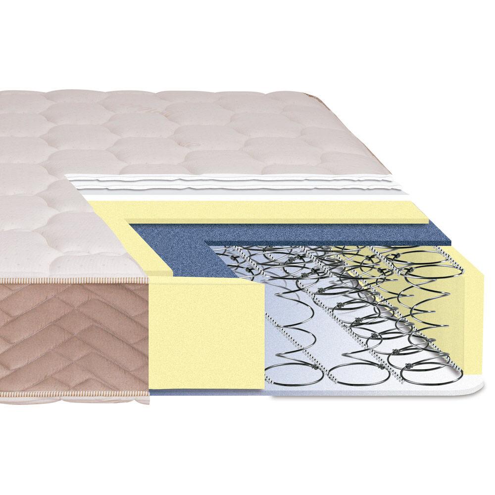 Cama Europea Celta Bamboo / 1.5 Plazas / Base Normal  + Textil image number 3.0
