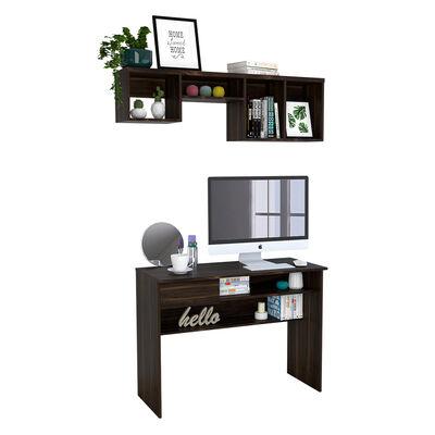 Combo Escritorio Casaideal Office + Repisa Casaideal Wall