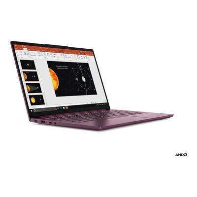 "Notebook Lenovo Yoga Slim 7 / Orchid / Amd Ryzen 5 / 8 Gb Ram / Amd Radeon Graphics / 256 Gb Ssd / 14 """