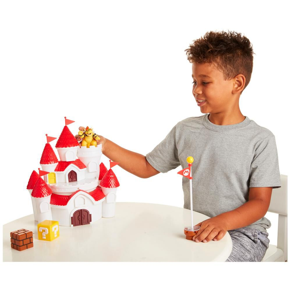 Figura Coleccionable Nintendo Playset Musheoom Kingdom Castillo image number 1.0
