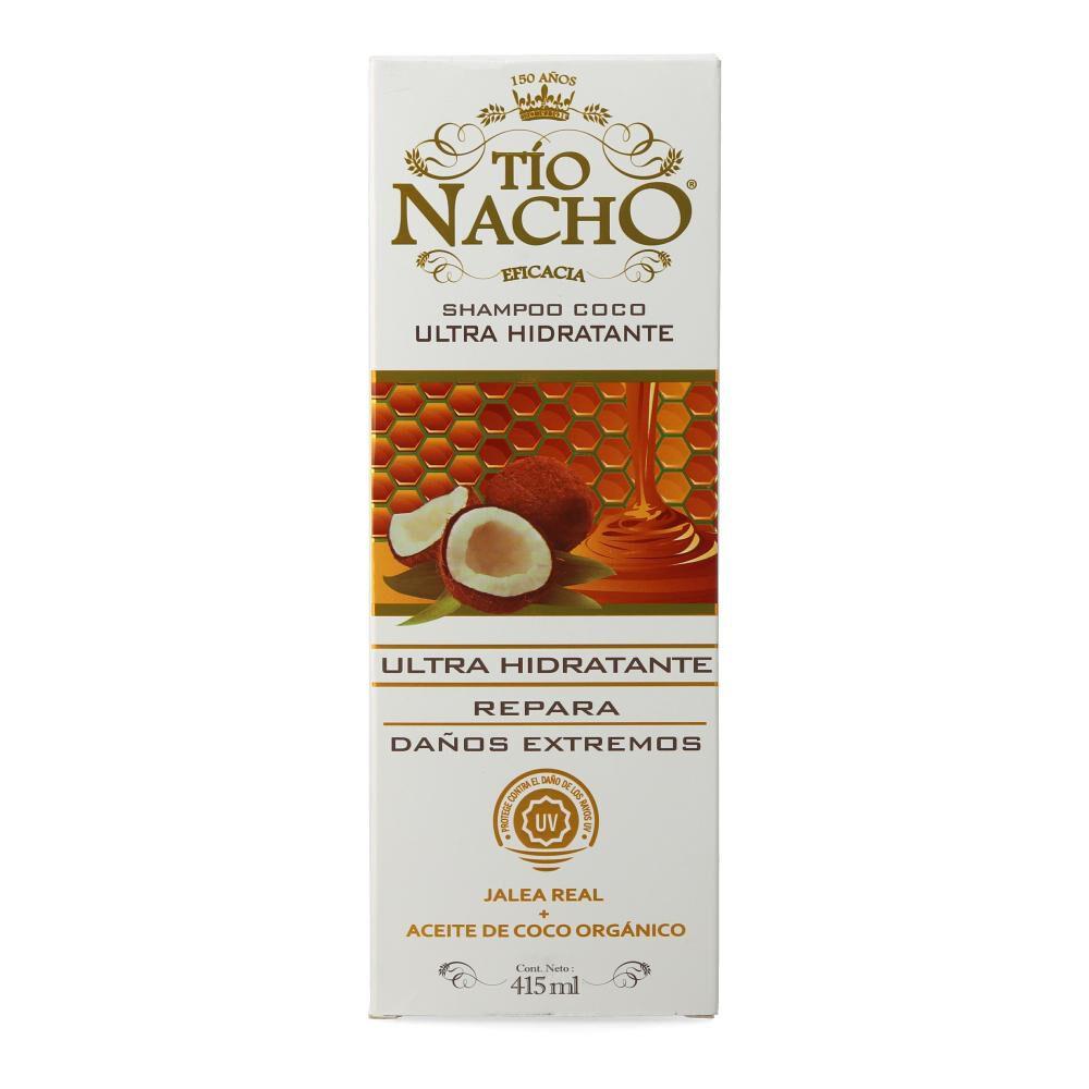 Shampoo Tio Nacho Coco Ultra Hidratante image number 1.0