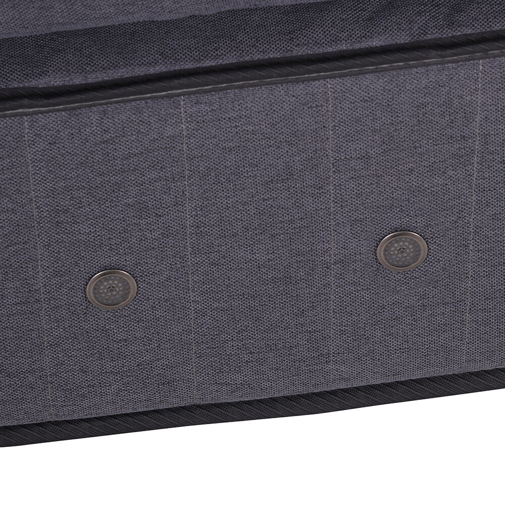 Box Spring Cic Super Premium / 2 Plazas / Base Dividida + Set De Maderas Miro + Textil image number 2.0