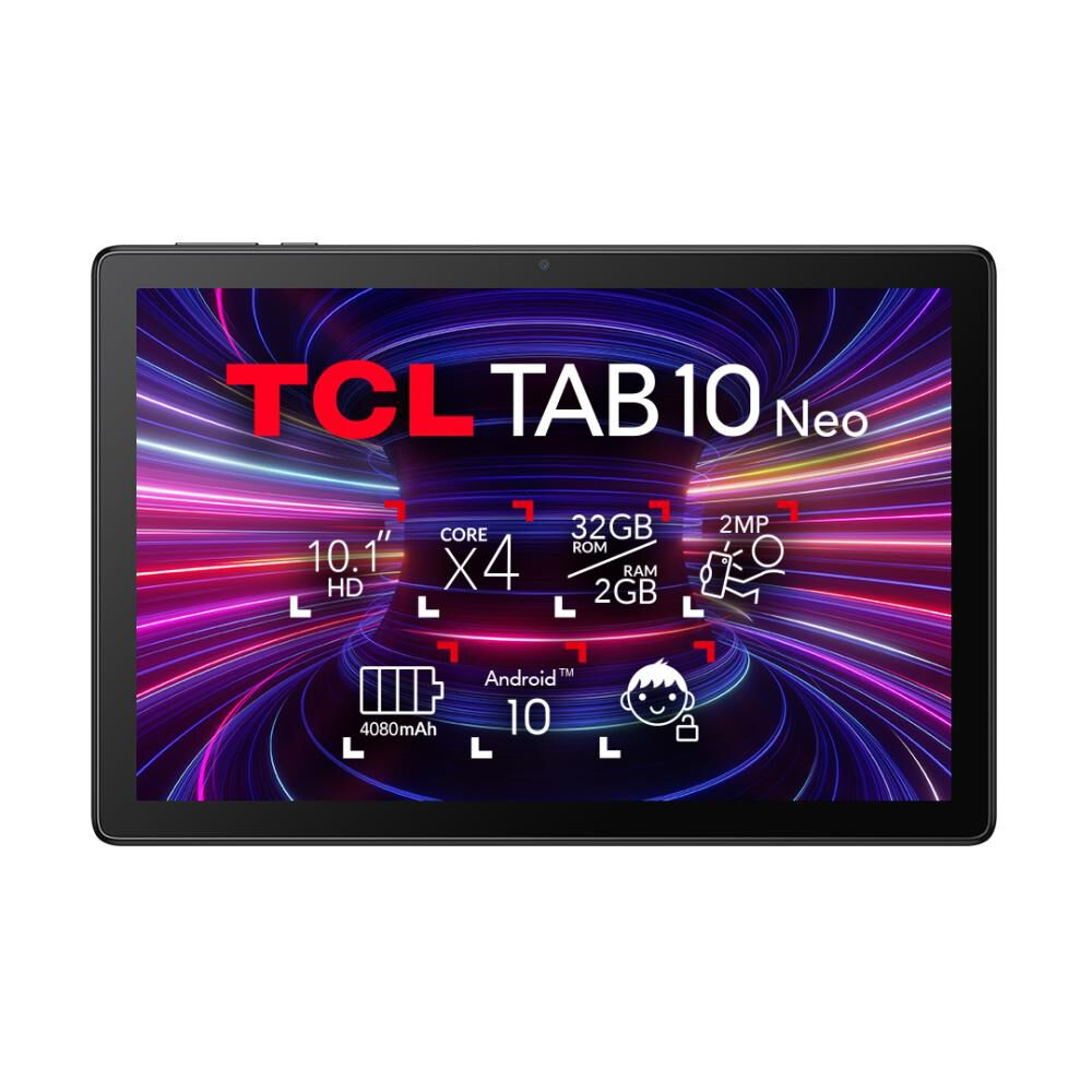 """Tablet Tcl Tab 10 Neo / 2 Gb Ram / 32 Gb / 10 """" image number 9.0"""