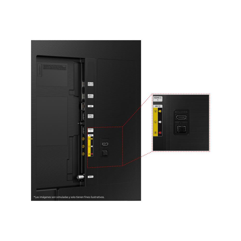 """Qled Samsung QN50Q60 / 50"""" / Ultra Hd / 4k / Smart Tv image number 7.0"""