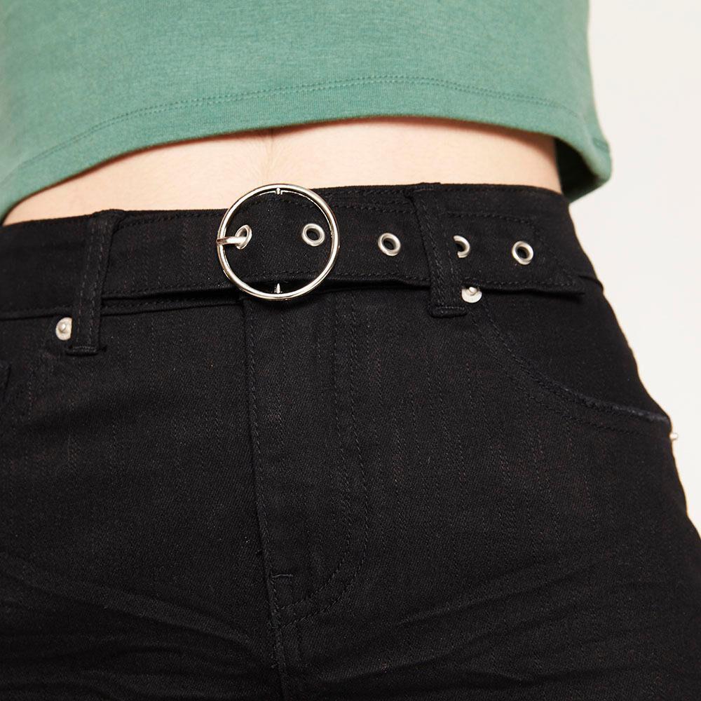 Falda Corta Con Cinturón Mujer Freedom image number 3.0