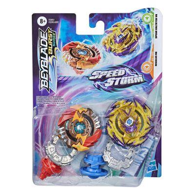 Figura Beyblades Speedstorm Dual Pack