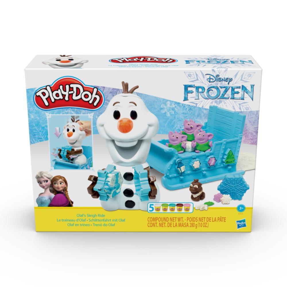 E5375 Play-Doh Frozen Olaf En image number 0.0