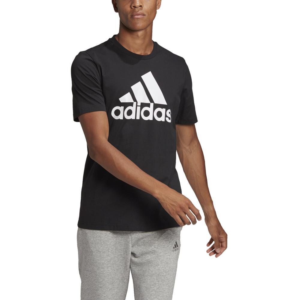 Polera Hombre Adidas Essentials Big Logo image number 7.0