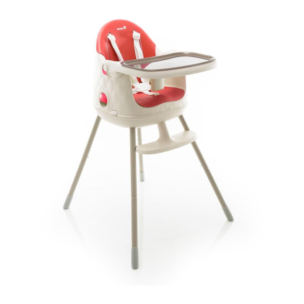 Silla De Comer Safety Jelly Red image number 3.0