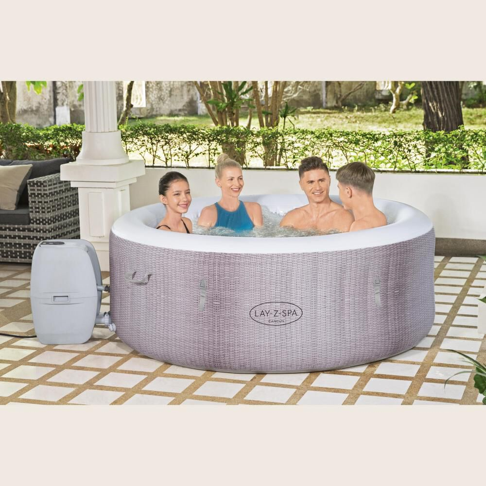 Spa Inflable Cancun Airjet Lay-z Bestway / 2-4 Personas image number 3.0
