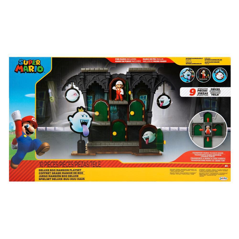 Figura Coleccionable Nintendo Playset Super Mario Dlx Boo Mansion image number 1.0