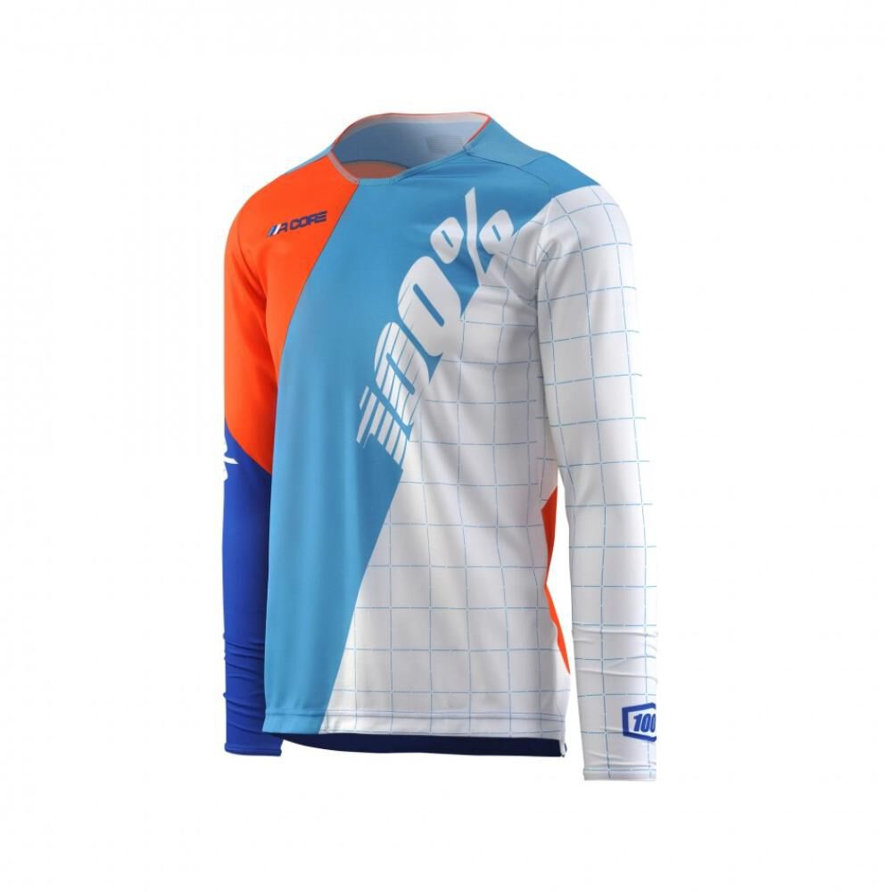 Tricota Ml 100% R-core Dh (sp 18) Jersey Md Blanco image number 0.0