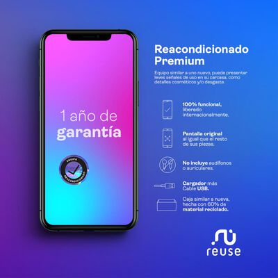Smartphone Apple Iphone Xs Max Reacondicionado Gris / 64 Gb / Liberado
