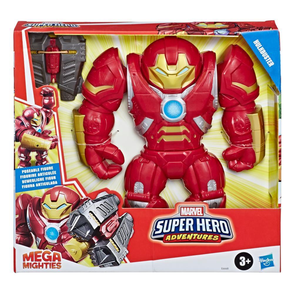 Playskool Heroes Mega Mighties Marvel Super Hero Adventures Hulkbuster image number 0.0