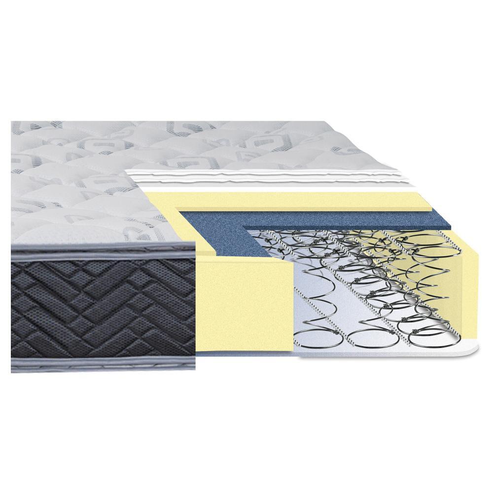 Cama Europea Celta Terapeutic / King / Base Dividida  + Textil image number 3.0