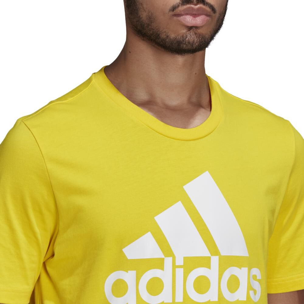 Polera Hombre Adidas Essentials Big Logo image number 4.0