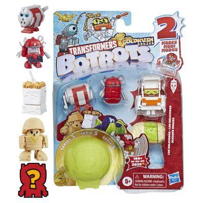 Figura De Accion Transformers Botbots 5pk Latin Food