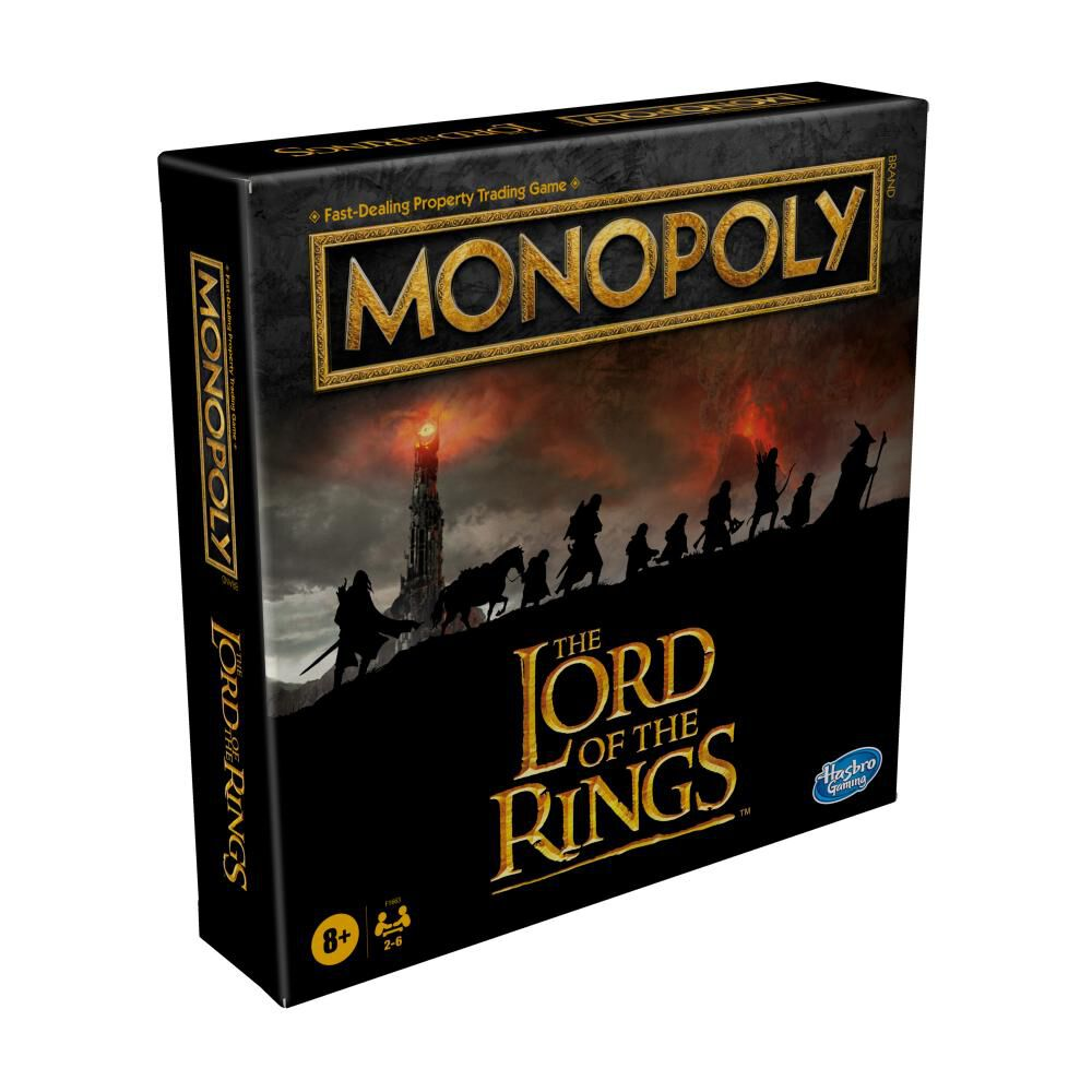 Juego De Mesa Monopoly The Lord Of The Rings image number 3.0
