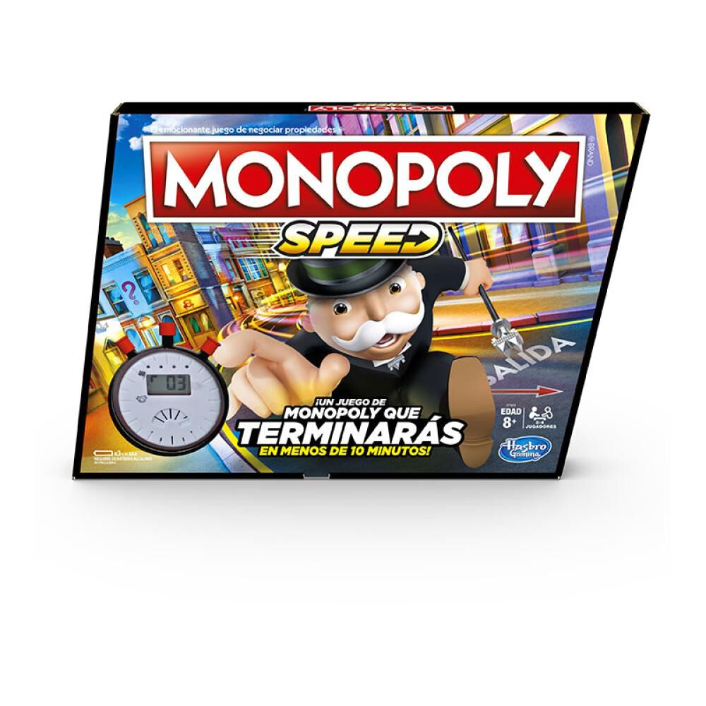 Juegos Familiares Monopoly Speed image number 0.0