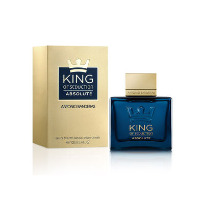 Perfume Antonio Banderas King Of Abolute / 100 Ml