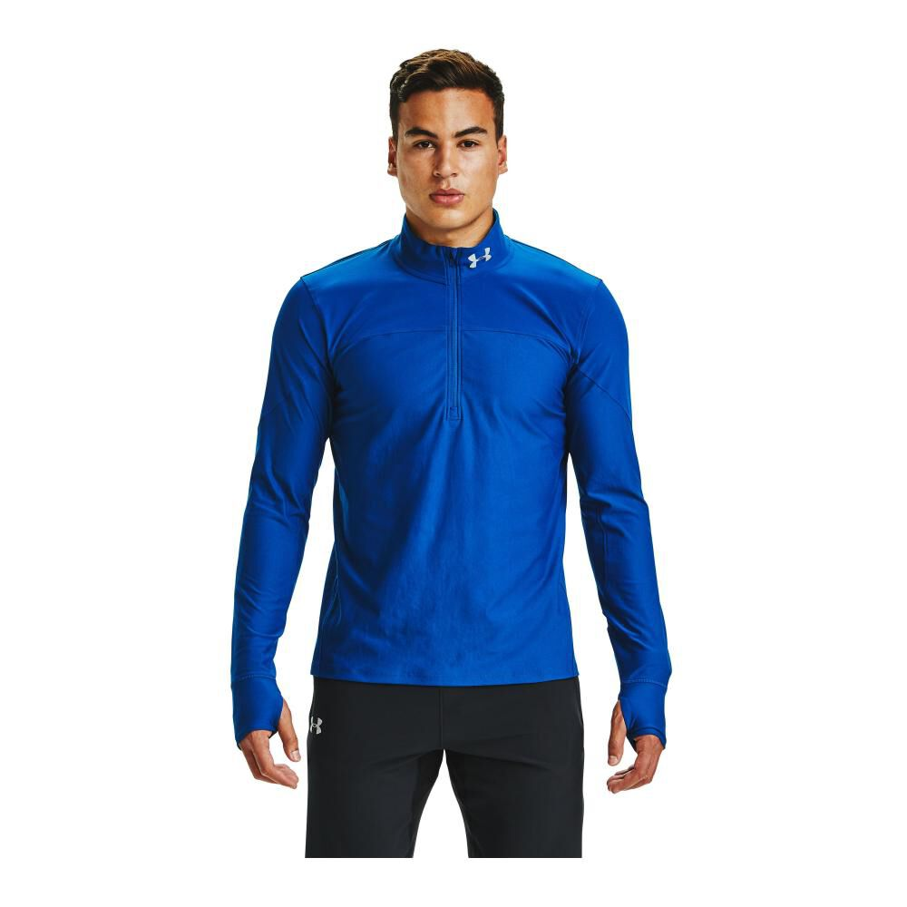 Poleron Deportivo Hombre Under Armour image number 2.0
