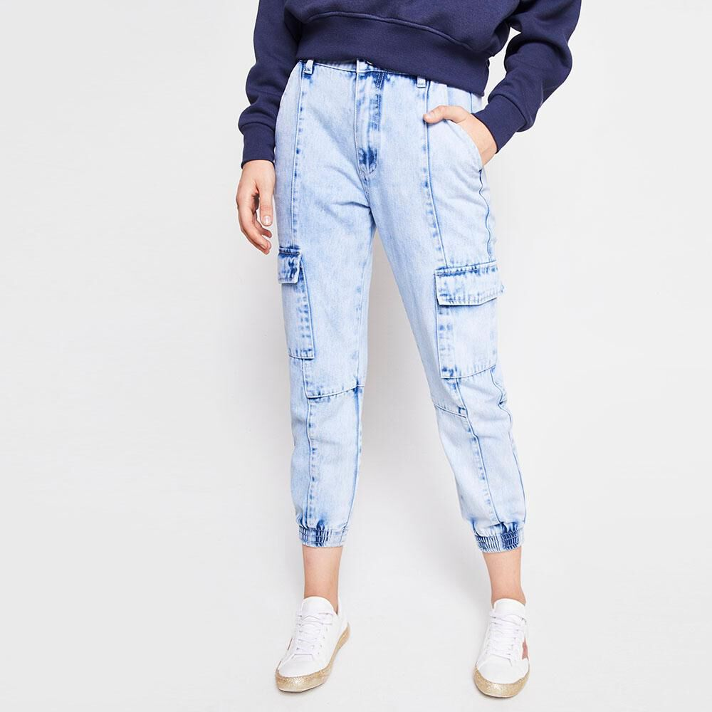 Jeans Mujer Tiro Medio relaxed Freedom image number 0.0