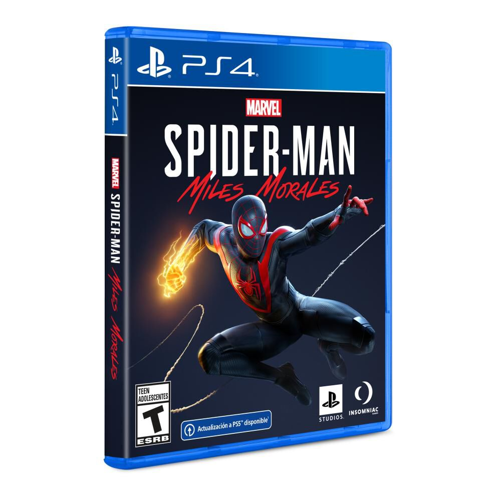 Videojuego Ps4 Spider-man Miles Morales image number 0.0