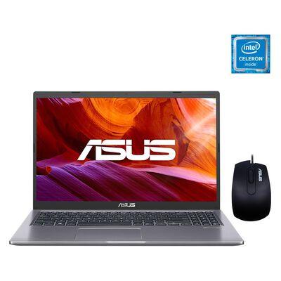 """Notebook Asus X515ma-br576t / Slate Grey / Intel Celeron / 4 Gb Ram / Intel Uhd 600 / 500 Gb Hdd / 15.6 """""""