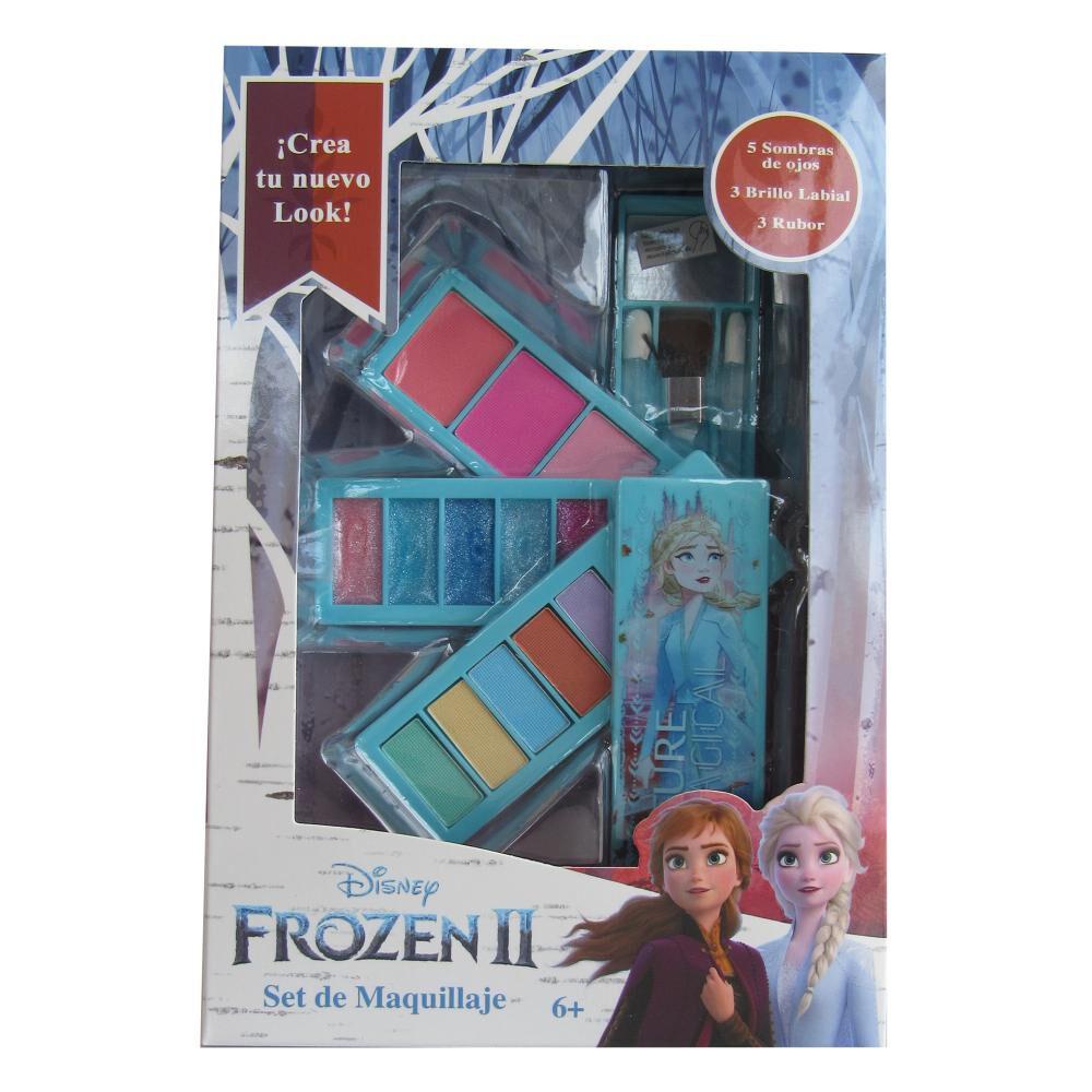 Muñeca Frozen 2 22930 4 Bandejas image number 2.0
