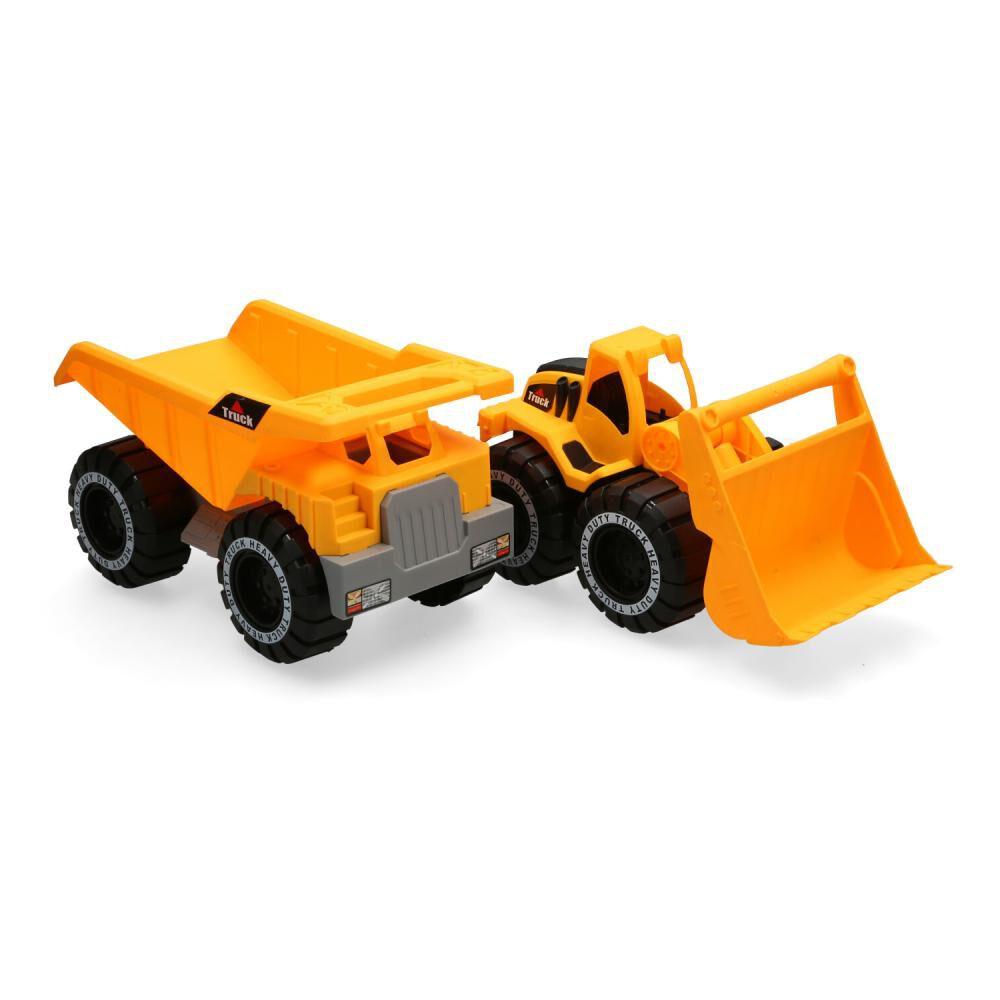 Auto De Juguete Happy Line Power Drive Construction Series image number 0.0