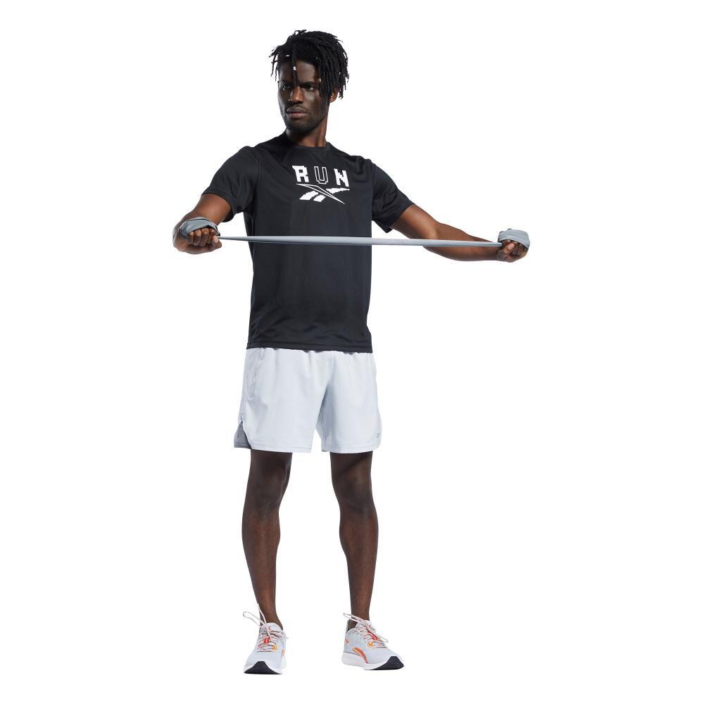 Polera Hombre Reebok Run Essentials Short Sleeve Graphic Tee image number 6.0