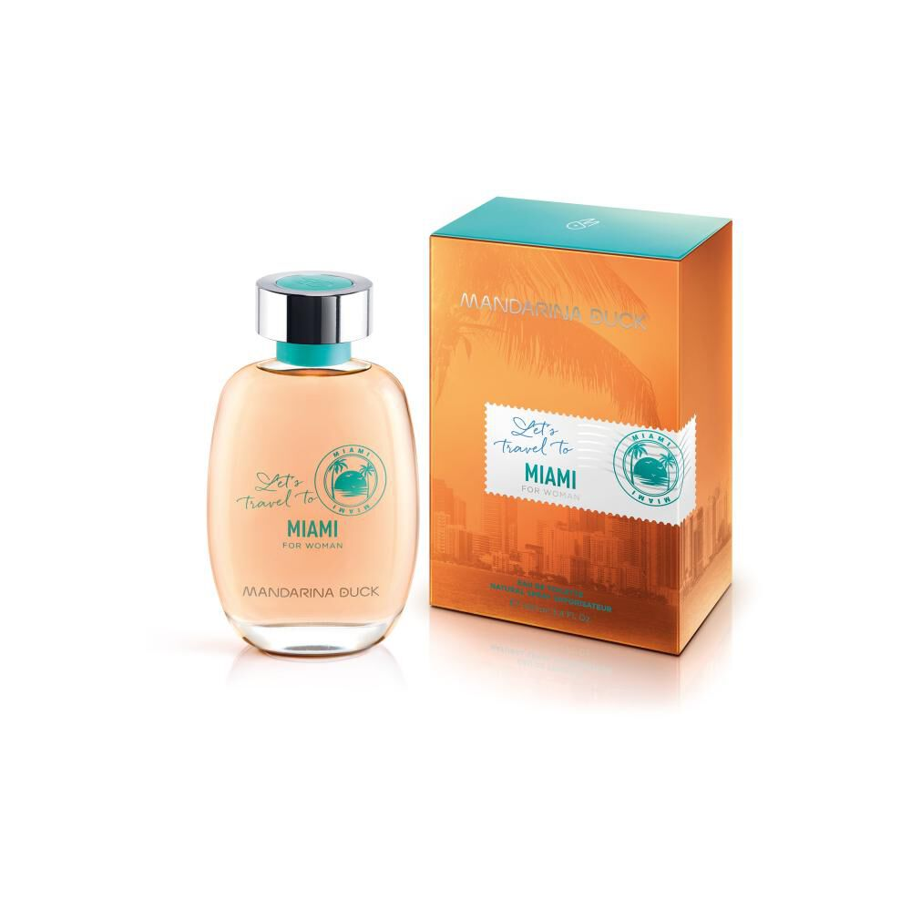 Perfume Lets Travel To Miami Mandarina Duck / 100 Ml / Edt image number 0.0
