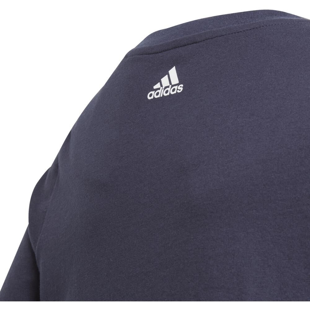 Polera Hombre Adidas Young Boys Linear Colorbock T-shirt image number 3.0
