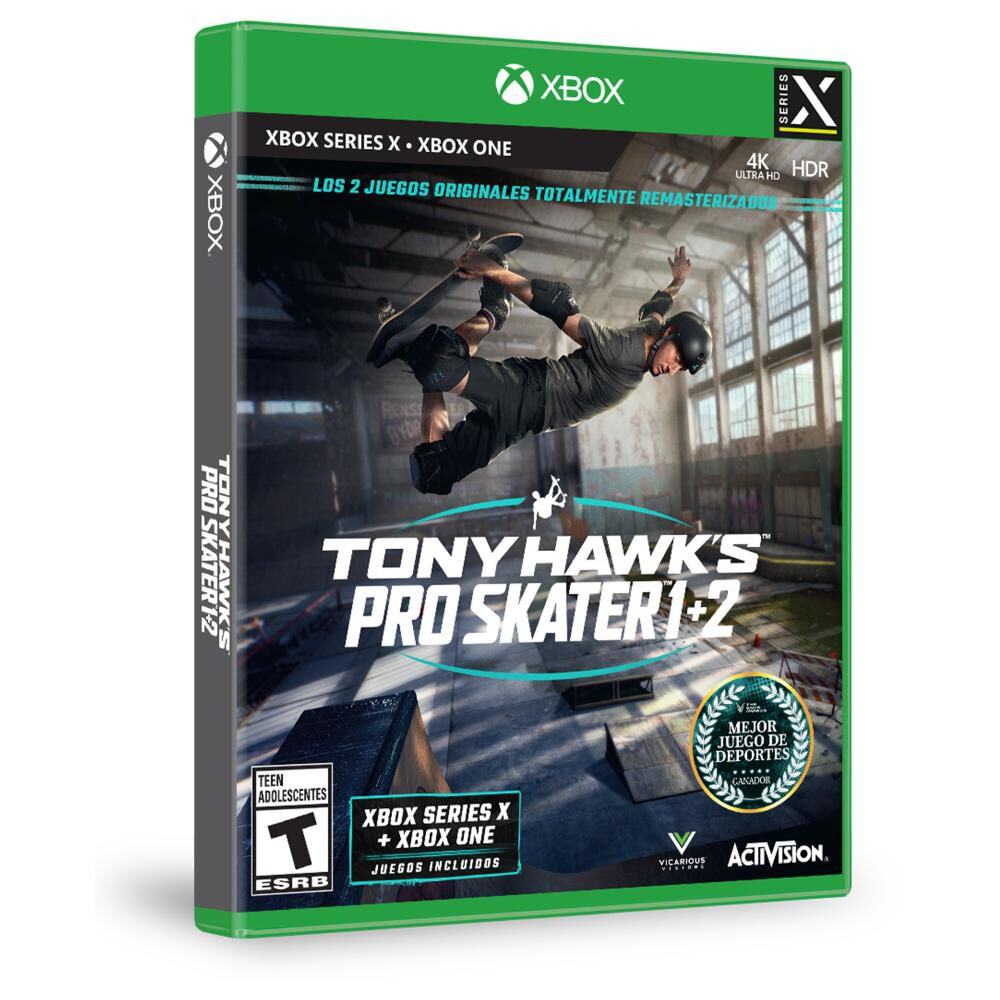 Juego Xbox One X Sony Pro Skater 1+2 Xbsx image number 1.0