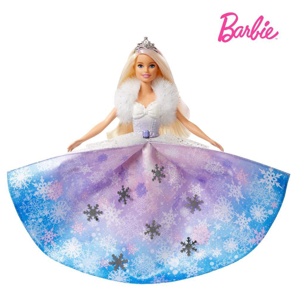 Muñeca Barbie Princesa Vestido Mágico image number 0.0