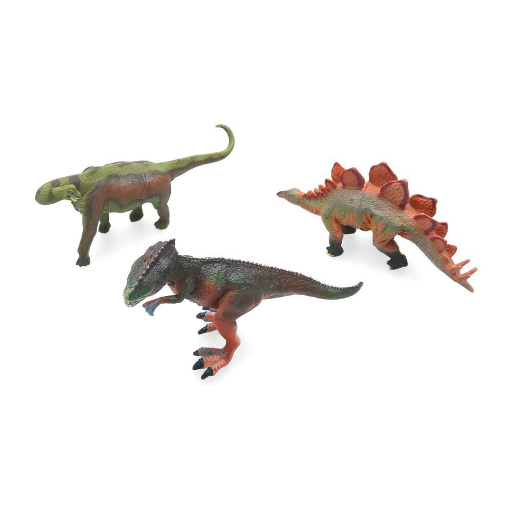 Set De Juguetes Hitoys Dinosaurios Pack 3 Basico image number 2.0