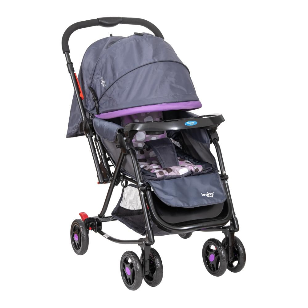 Coche Cuna Baby Way Bw-309M20 image number 4.0