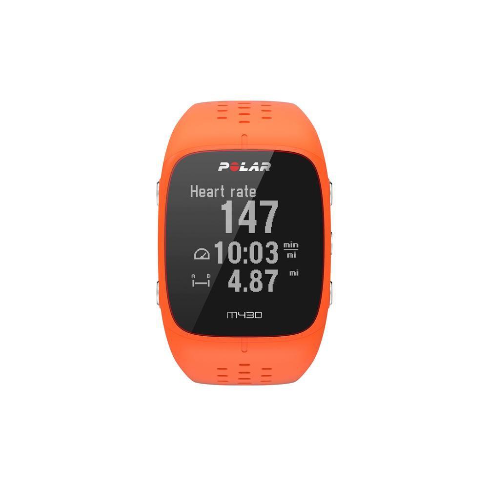 Smartwatch Polar M430  Naranjo image number 0.0