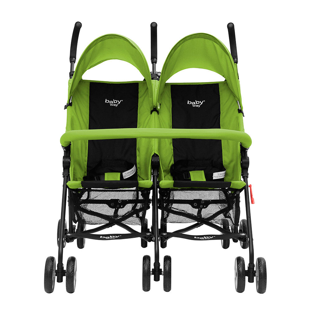 Coche Paraguas Doble Baby Way Bw-120G17 image number 1.0