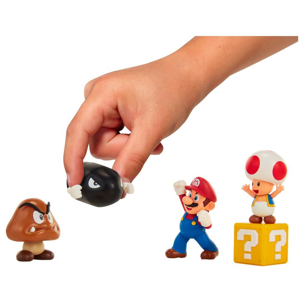 Figura Coleccionable Nintendo Playset Mario Acorn Plains image number 3.0