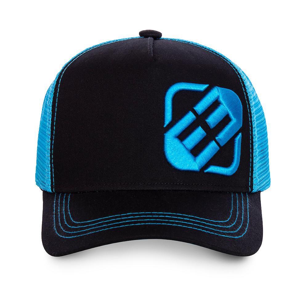 Jockey Trucker Freegun Logo Negro/azul image number 1.0