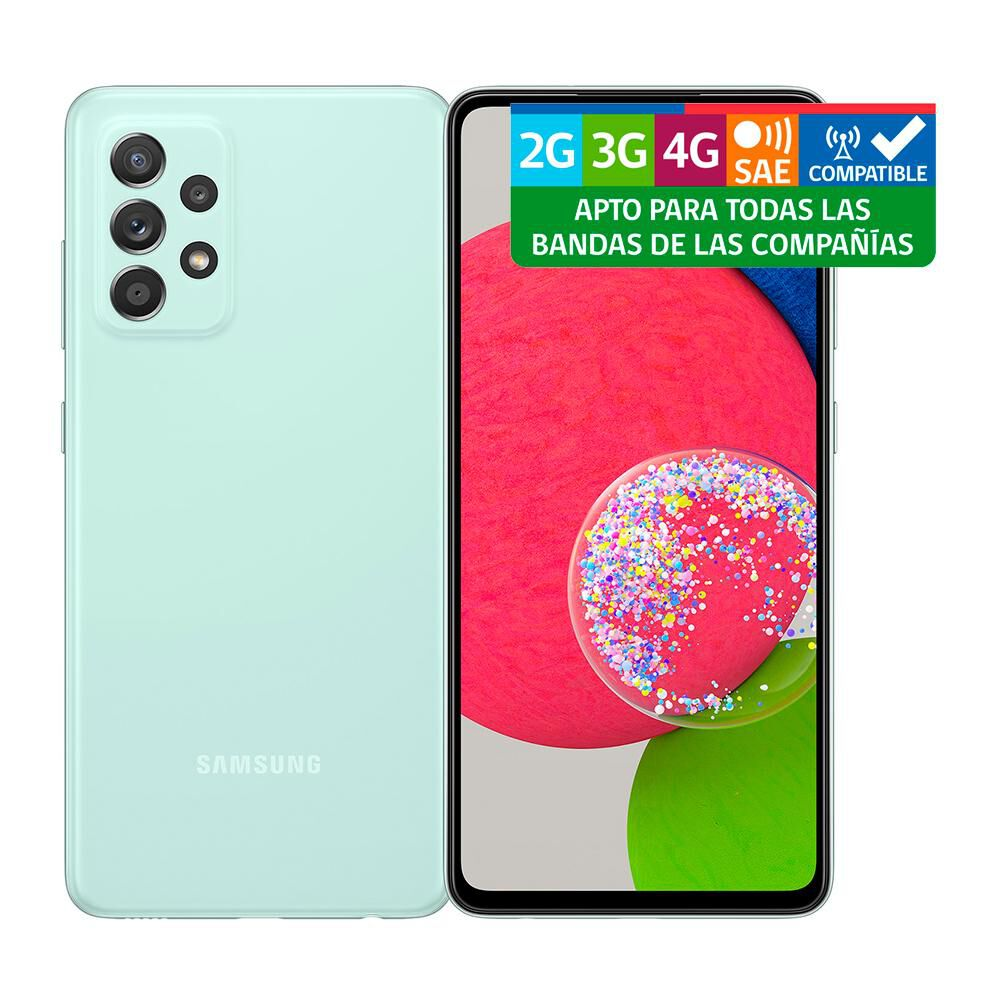 Smartphone Samsung Galaxy A52s Verde / 128 Gb / Liberado image number 10.0