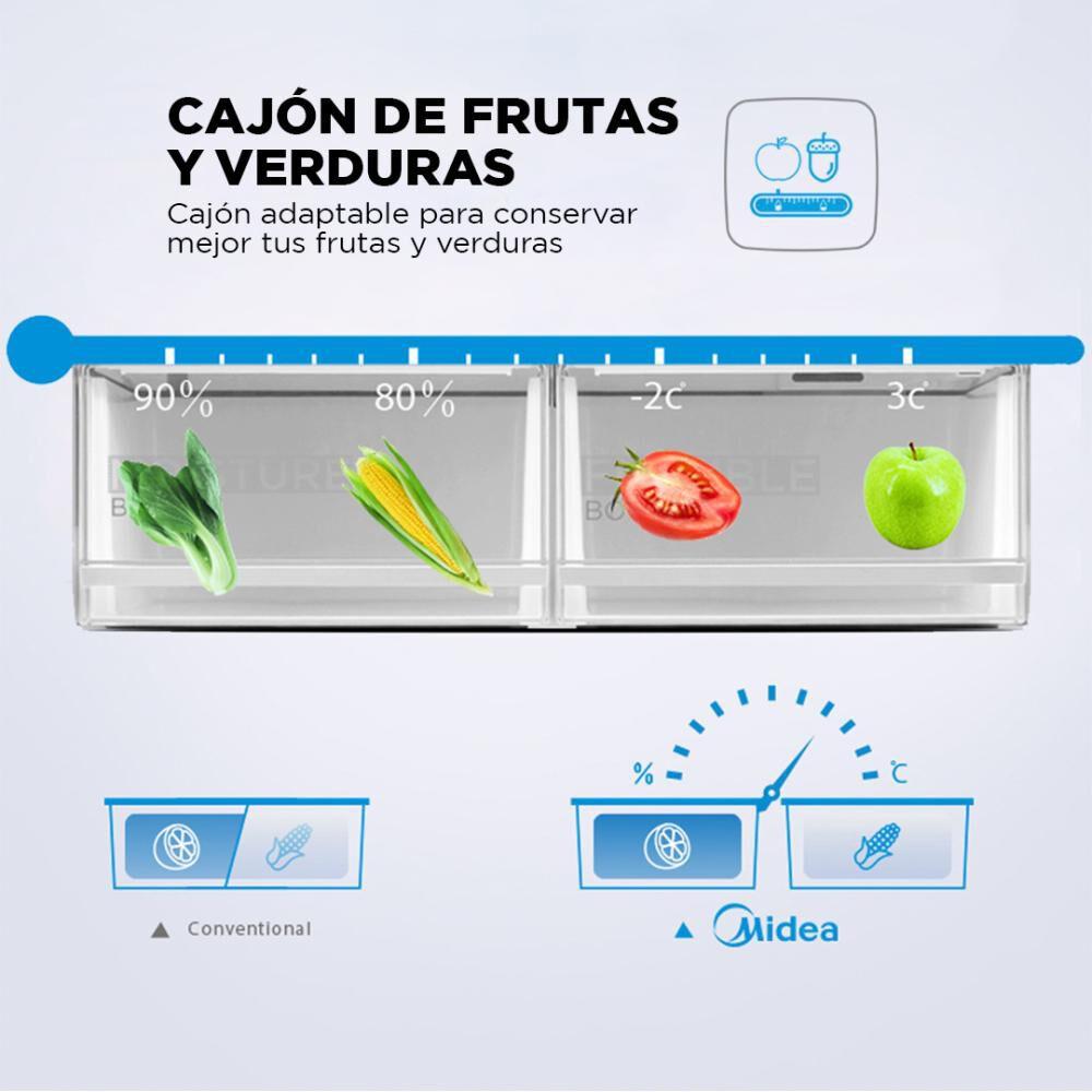 Refrigerador Midea No Frost Mrtt-4790s312fw 468 Litros image number 5.0
