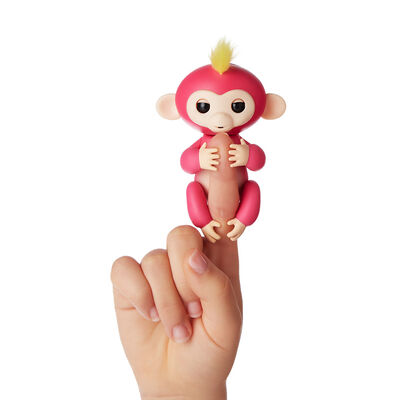 Juguete Fingerlings Pink Bella