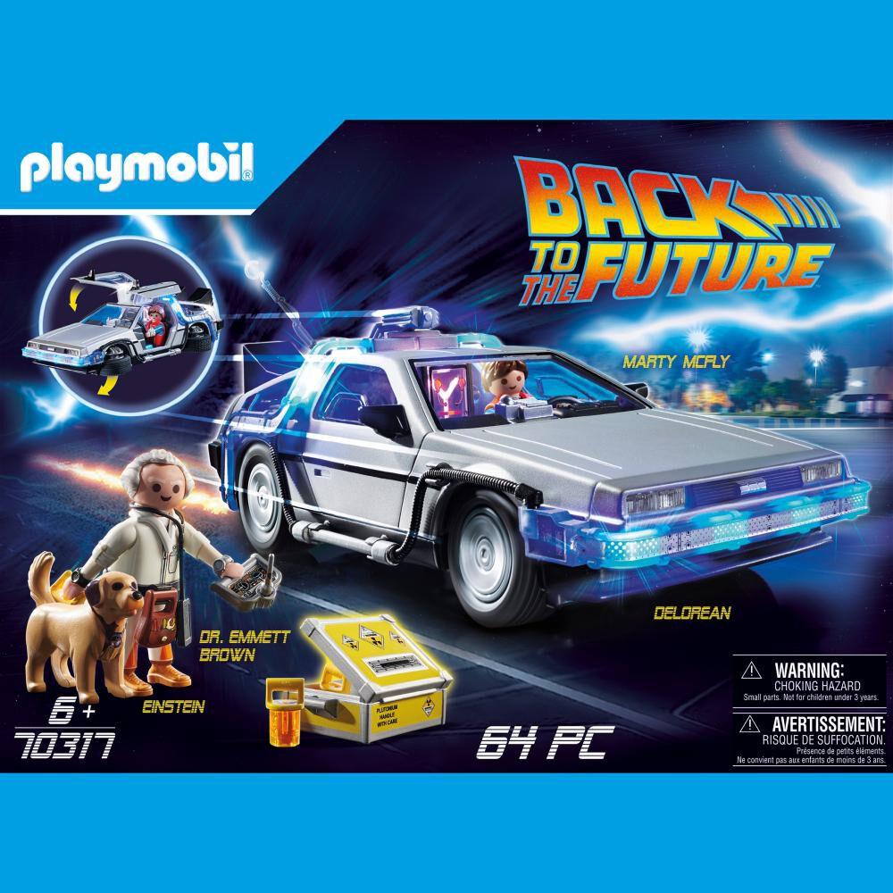 Auto Playmobil Volver Al Futuro image number 2.0