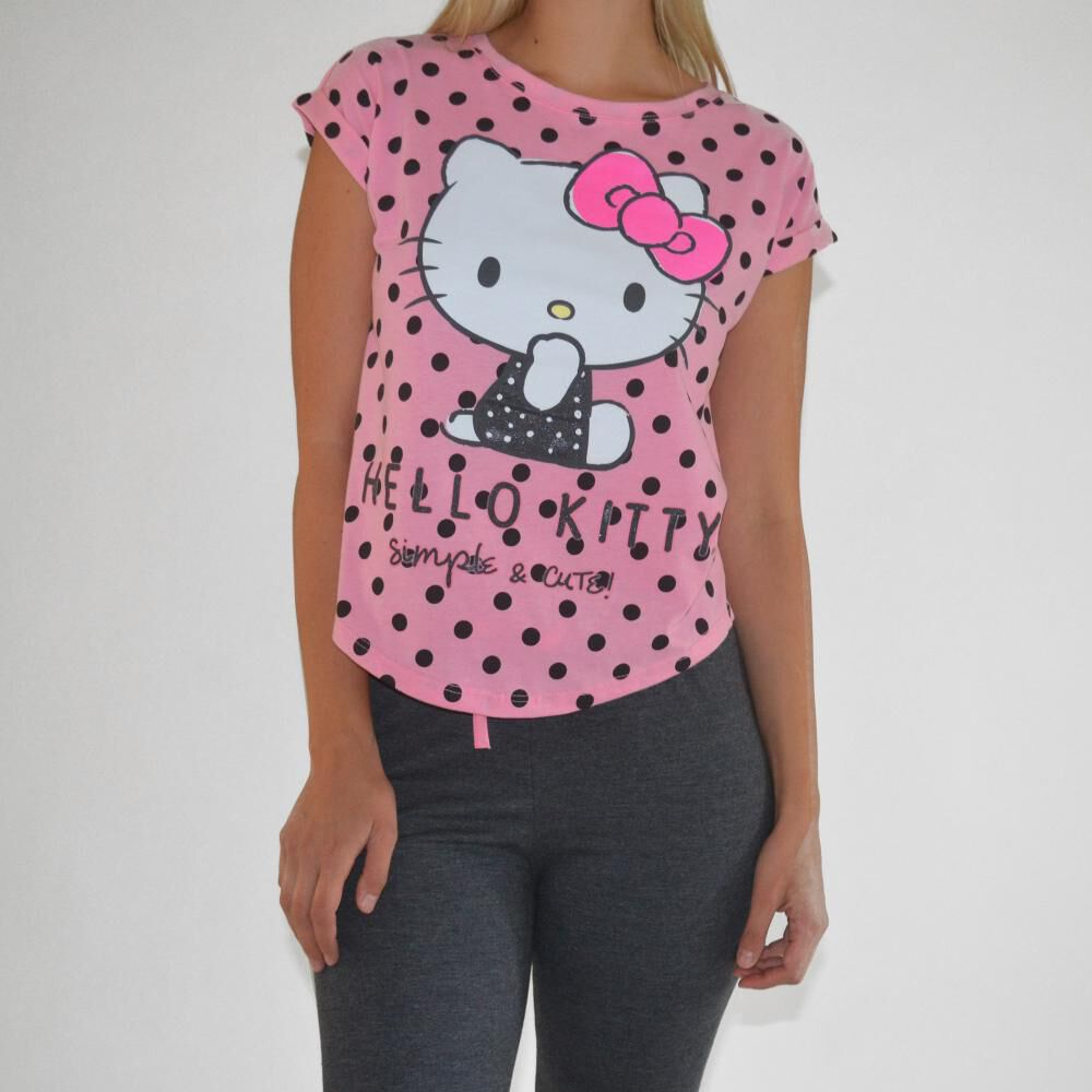 Pijama Mujer Hellow Kitty image number 2.0