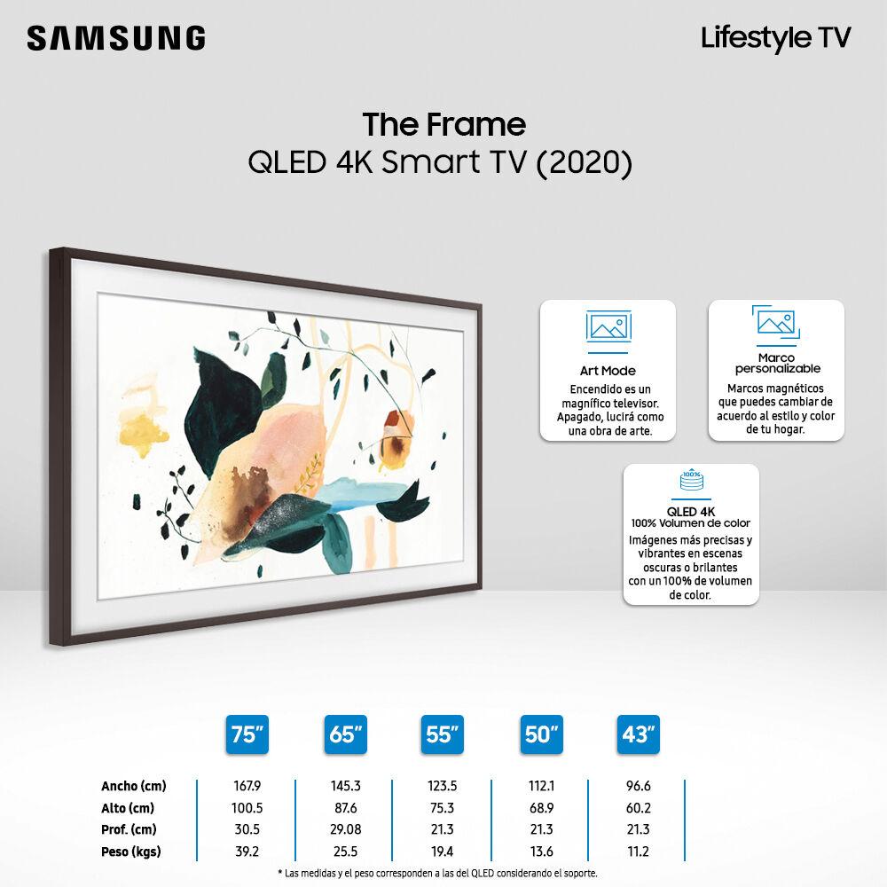 """Qled Samsung The Frame / 55"""" / Ultra HD 4K / Smart Tv 2020 image number 5.0"""