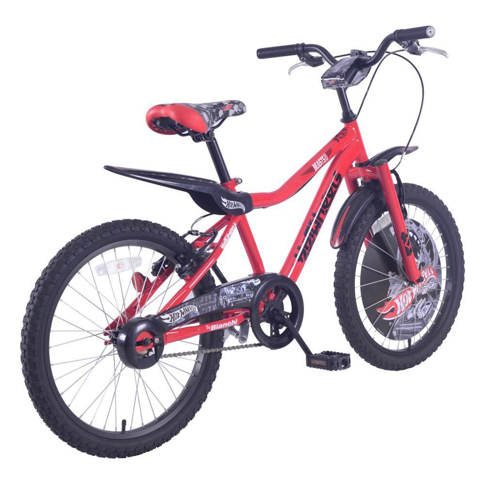 Bicicleta Infantil Bianchi Hot Wheels 20 / Aro 20 image number 2.0